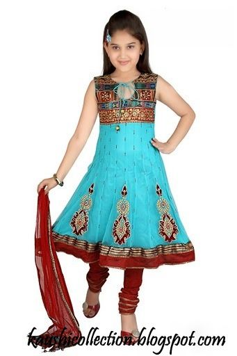 Sparkling Fashion: Kids anarkalis & gowns