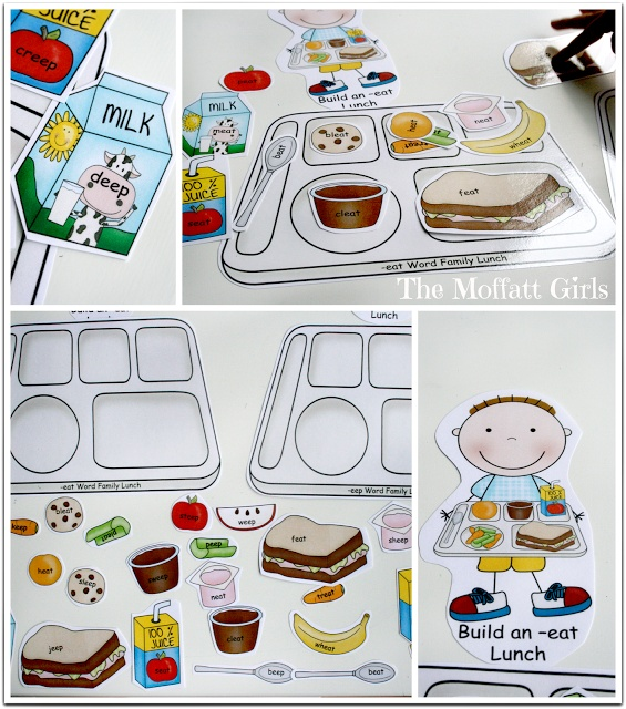 Build a Word Family Lunch with Ready2Read!