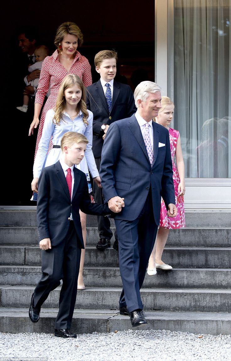 The Belgium Royal family gathered to celebrate the 80th birthday of Queen Paola of Belgium...