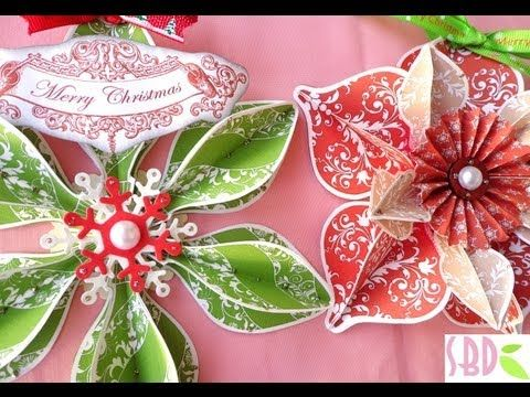 Ornamenti Natalizi! - Christmas Ornaments! - YouTube. You don't need to understand Italian to enjoy this video. The paper ornaments are marvelous!