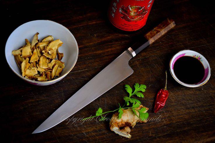 Japanese style kitchen knife  www.gidgeeknives.com.au