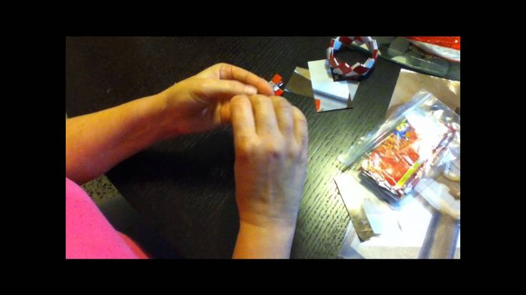 Candy Wrapper Purse Tutorial P1..