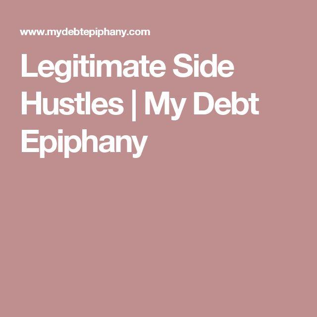 Legitimate Side Hustles | My Debt Epiphany