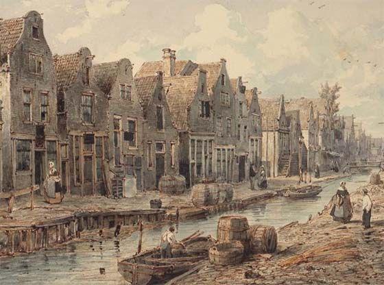 goudsbloemgracht  rond 1850