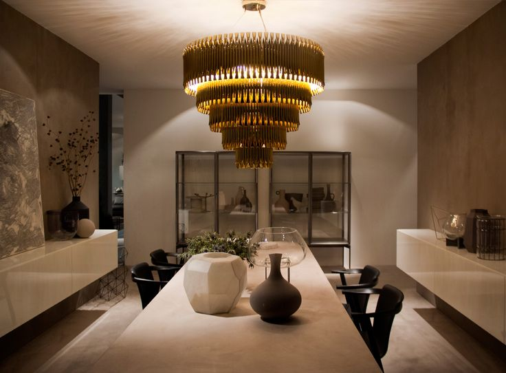 Matheny Chandelier By DelightFULL White Dining Room With A Beautiful Design