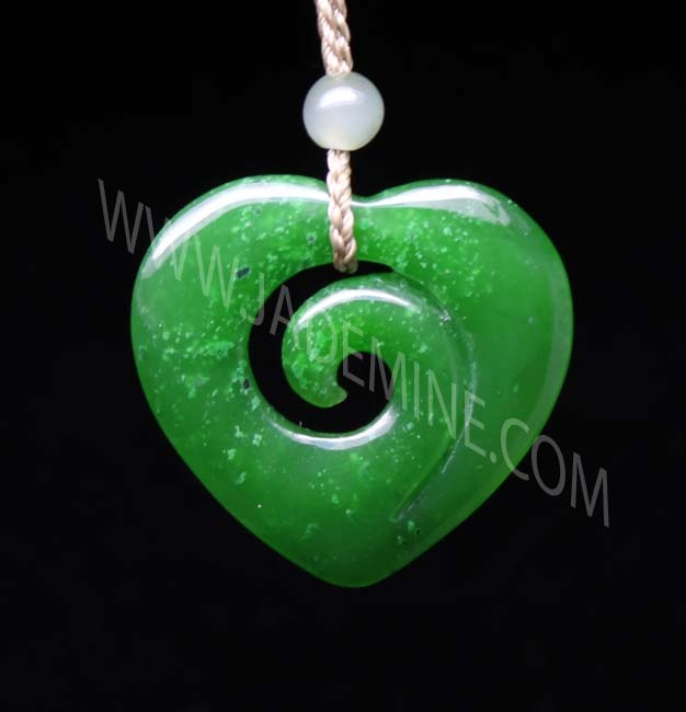 90 best jade images on pinterest bone carving carved wood and jade heart pendant mozeypictures Choice Image
