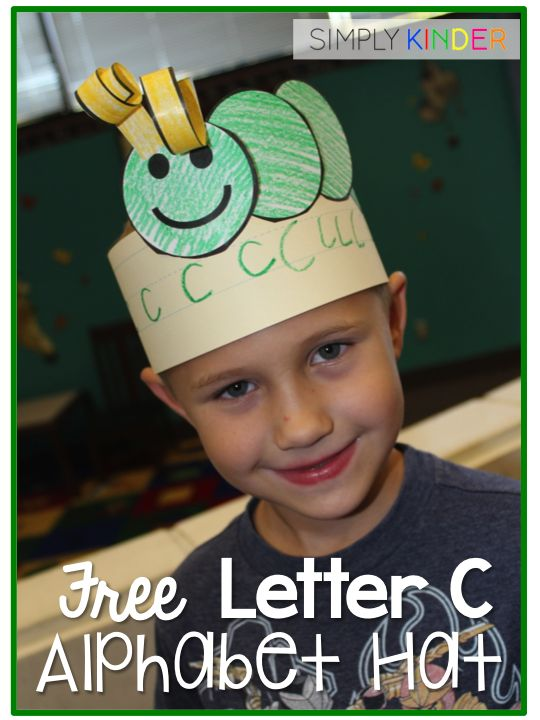 Alphabet Hat Sample & Instructions - With Free Preview & Discount! - Simply Kinder