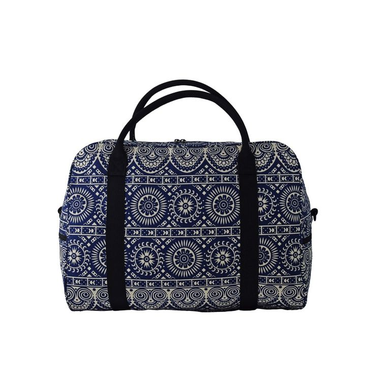 Classy yet cool, the Geometric Explorer bag tell stories of Egypt and Mexico in its patterns. #elephantstripes
