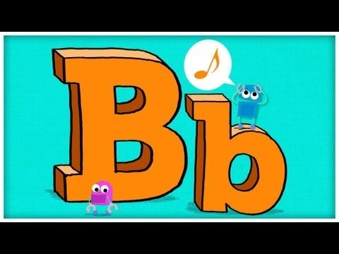 "ABC Song - Letter B - ""B is For Boogie"" by StoryBots - My students and I LOVE these!!!!!"