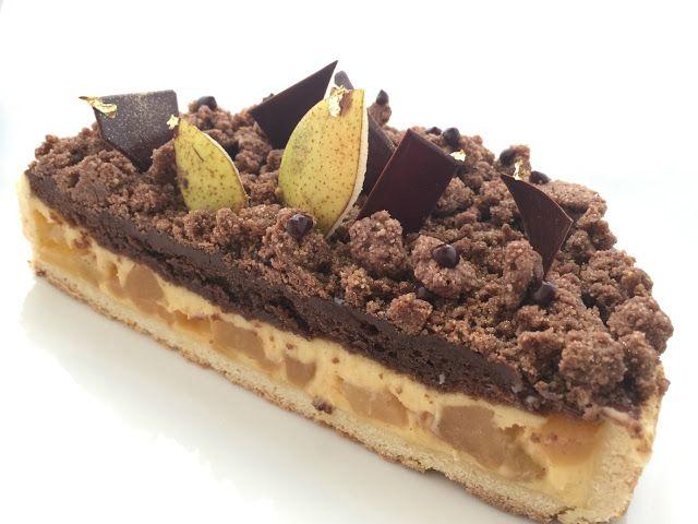 I Dolci di Pinella: # a tutto Laghi crostata di crema pere e cioccolato