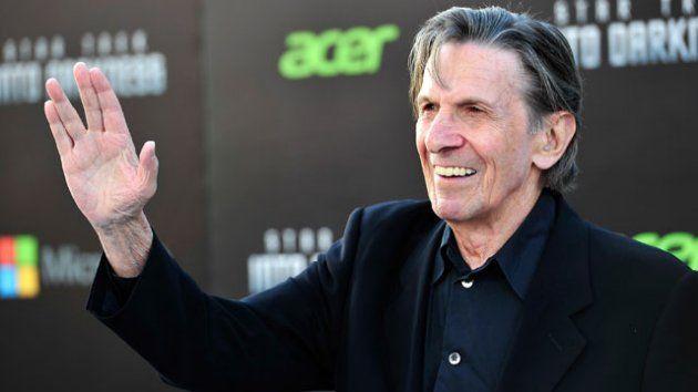 Leonard Nimoy Dies at 83.  R.I.P. Mr. Spock.