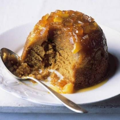 PEAR AND GINGER STEAMED PUDDING                                                                                                                                                                                 More