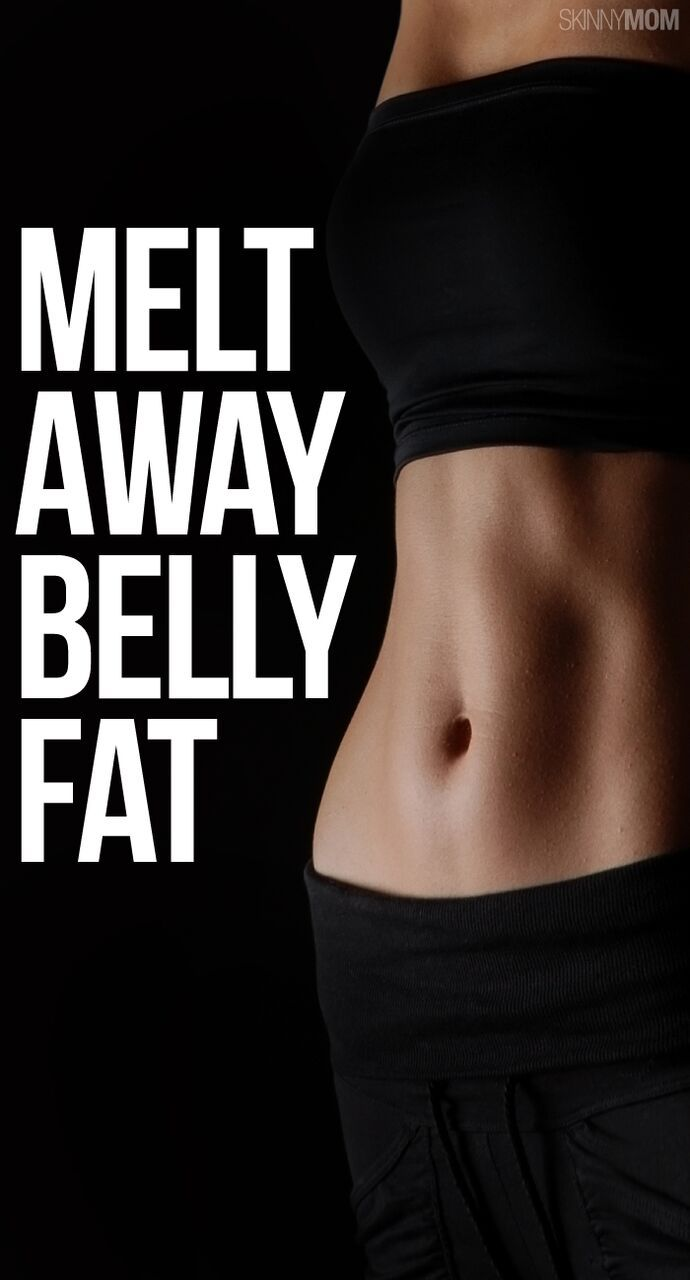 Say goodbye to belly fat with these 8 exercise moves! #coreexercises