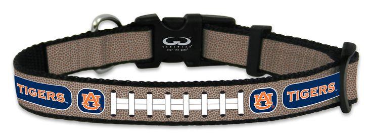Auburn Tigers Reflective Toy Football Collar
