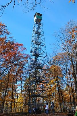 Itasca State park - Fire Tower. i am afraid of heights but i climbed this on my honeymoon, my first time at my husband's family cabin on leech lake in walker, minnesota