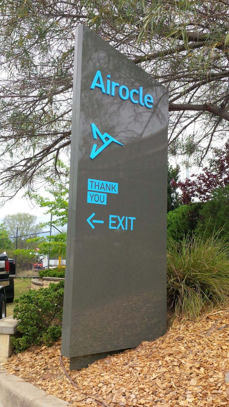 Airocle #custom #sign #directory #identity #wayfind