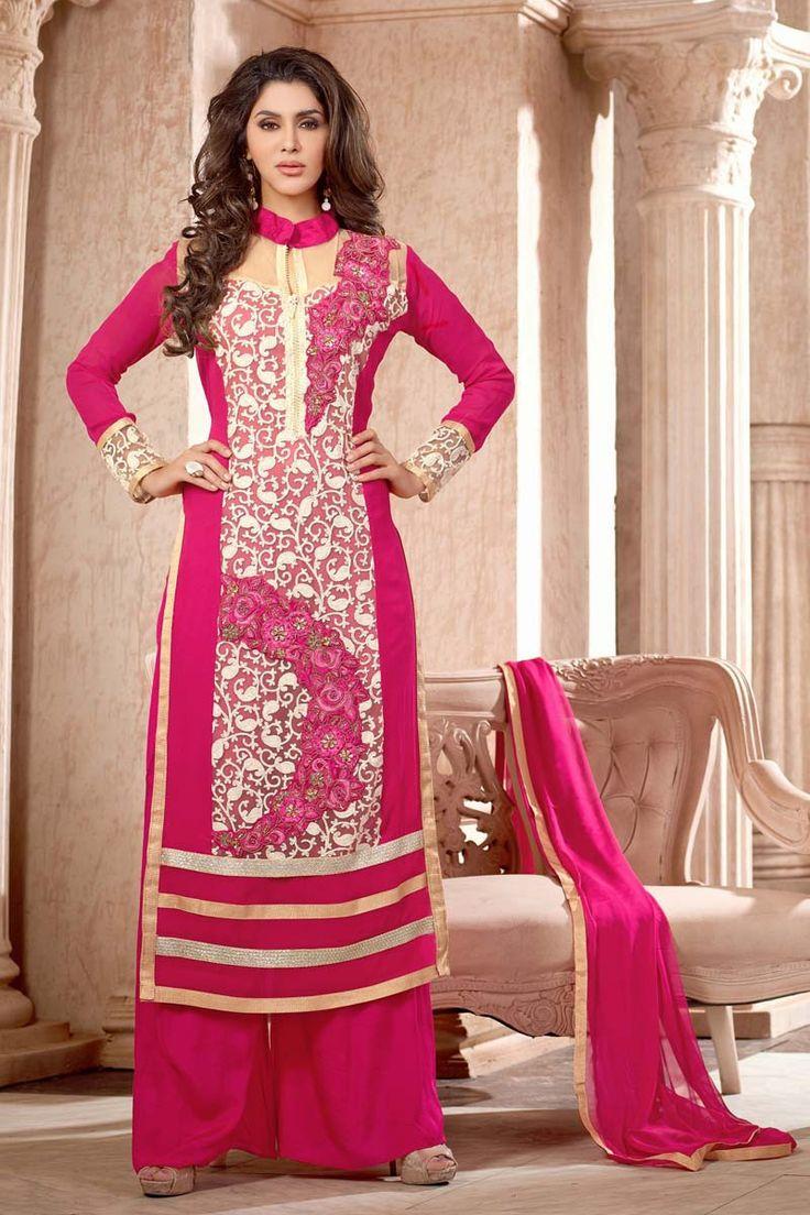 Lujoso Trajes Salwar Boda India Festooning - Colección de Vestidos ...