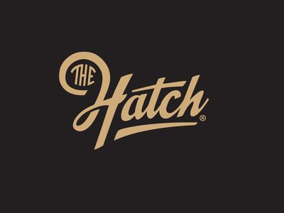 The Hatch logotype by Emir Ayouni
