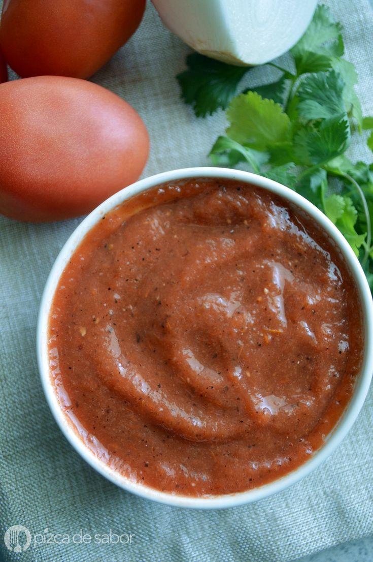 Salsa roja con chipotle - Pizca de Sabor