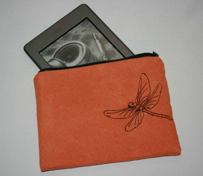 Lovely E Book Tablet Tasche Libelle Ma anfertigung