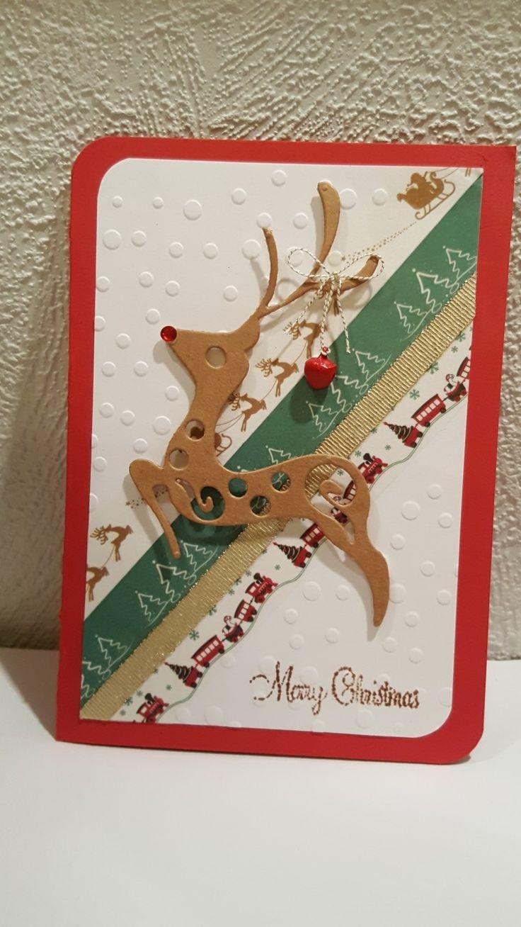 """Julekort 2017 """"Merry Christmas"""""""