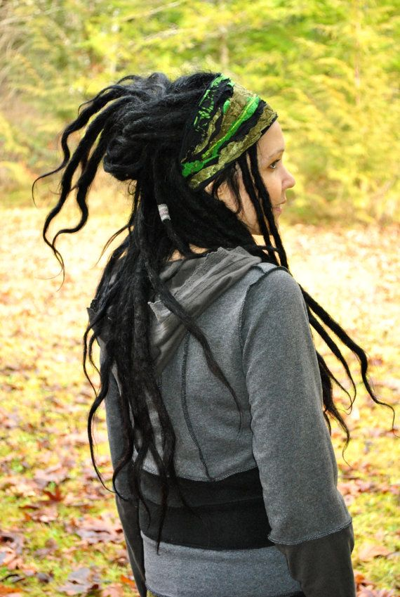 Dread Wrap Women's Headband Gypsy Headband by IntergalacticApparel, $28.00