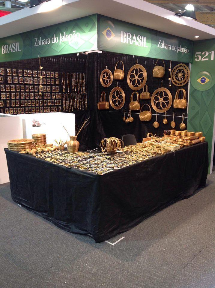 Artesanía Brasil en cobre