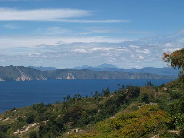 View over Lake Toba