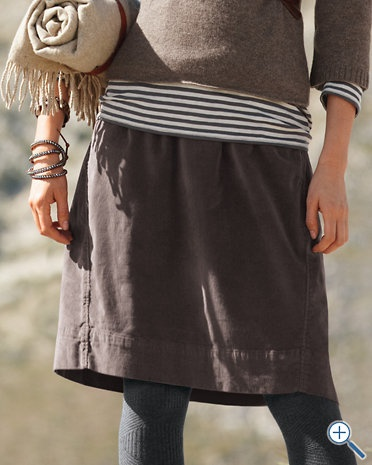 cute everyday layersWomens Fashion, Fashion Skirts, Winter Style, Style Inspiration, Garnet Hills, Stripes Shirts, Fall Outfit, Casual Looks, Corduroy Skirts