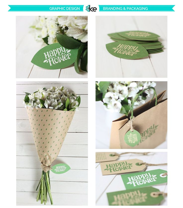 Happy Flower Branding