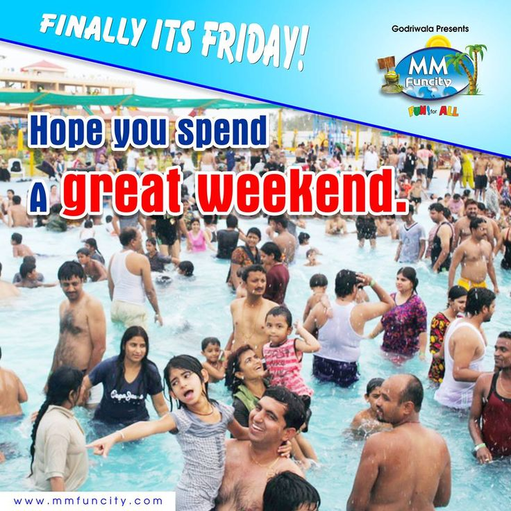 Finally, It's Friday! Hope you spend a great weekend. #Friday #Weekend #Fun