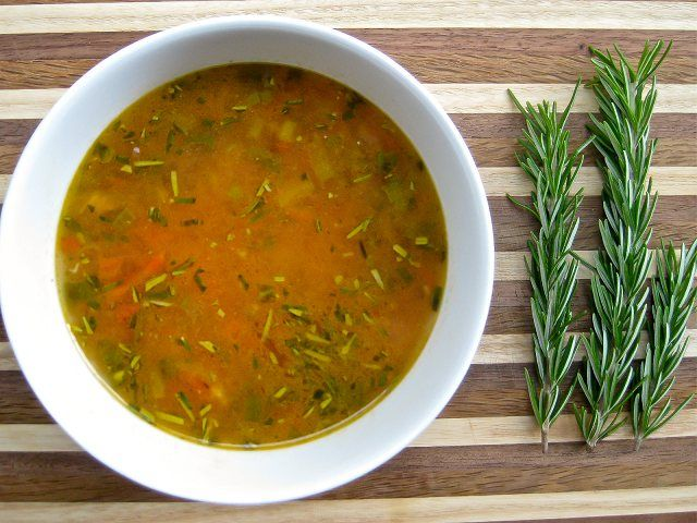 Cheeky 10 Minute Chickpea and Rosemary Soup - Are you looking for the quickest easiest most delicious soup on the planet? This vegan chickpea and rosemary soup can be made in minutes and is delicious. This recipe is fantastic for travelling!