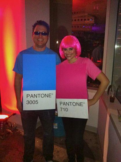 pantone halloween costumes!