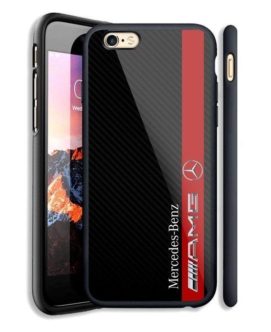 new arrival 874ed 18563 Details about Mercedes Amg Stripes Logo Automotive iPhone 6s 7 8 X ...
