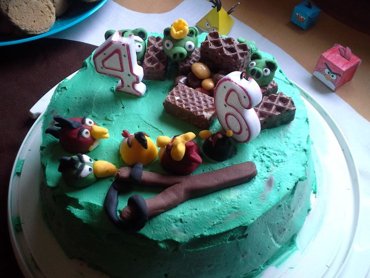 cake, angry bird