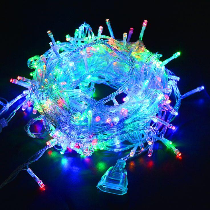 Luxury  Mt Wasserdichte V V Led string urlaub beleuchtung F r Dekor Au en Weihnachten Festival Partei Fairy LED Streifen licht in Mt Wasserdichte
