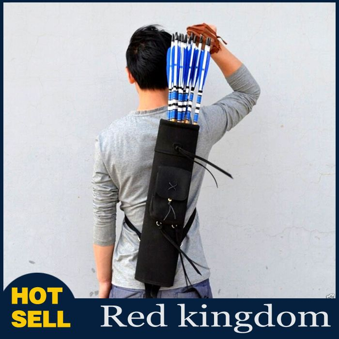 """21"""" Back Arrows Quiver Bow Package Archery 3 Point Harness Bag"""