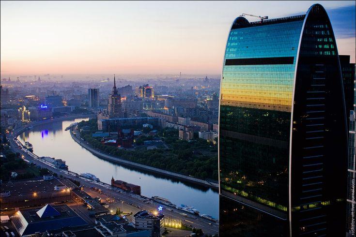вид из Moscow City