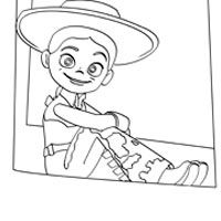 jessie the show coloring pages - photo#22