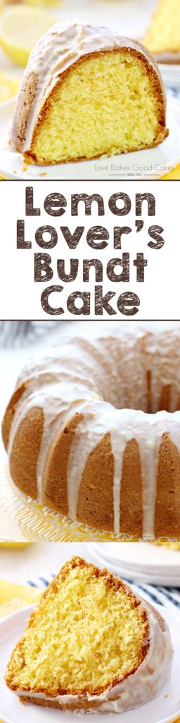This Lemon Lover  39 s Bundt Cake is everything you want in a lemon cake   sweet  lemony  moist and delicious  It  39 s sure to become a favorite  AD  Hamiltonbeach