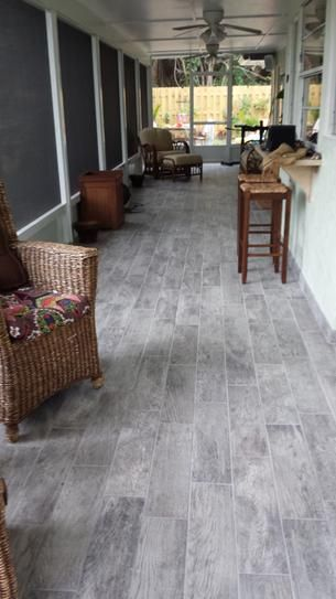 Montagna Dapple Gray 6 in. x 24 in. Porcelain Floor and Wall Tile (14.53 sq. ft…