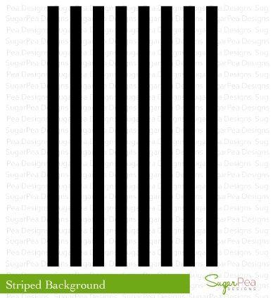 SugarPea Designs STRIPED BACKGROUND Clear Stamp Set SPD00185