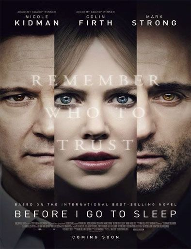 Poster de Before I go to sleep (No confíes en nadie)