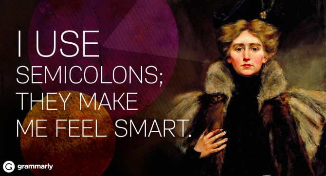 Break your writing rituals by using semicolons! Here are three ways you can incorporate semicolons into your next text.