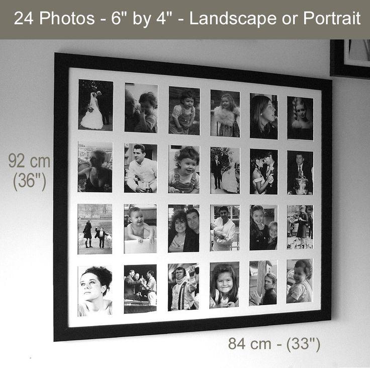 Details About Multi Aperture Memories Frame Black Or