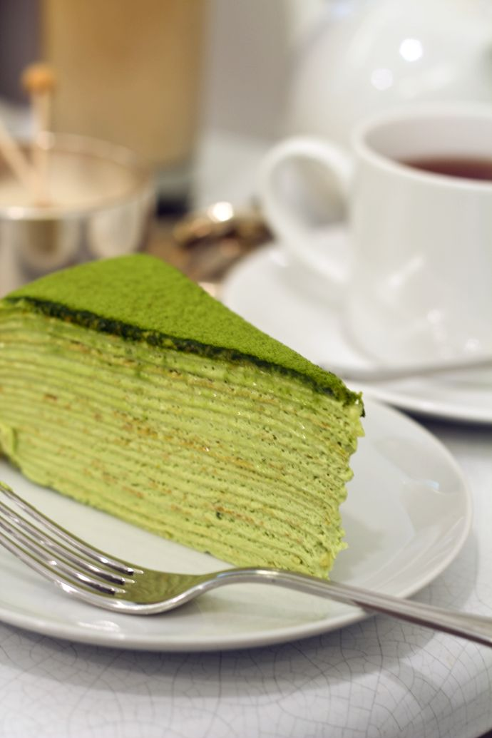 13th June, 2014 - Hightea - Lady M Confections - Home - Oh, How Civilized #GreenTeaCake
