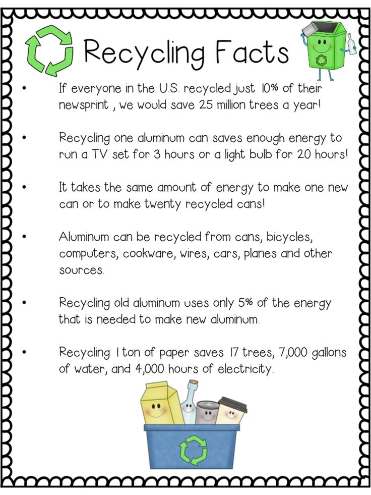 Great recycling freebies!