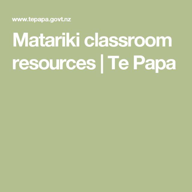 Matariki classroom resources   Te Papa