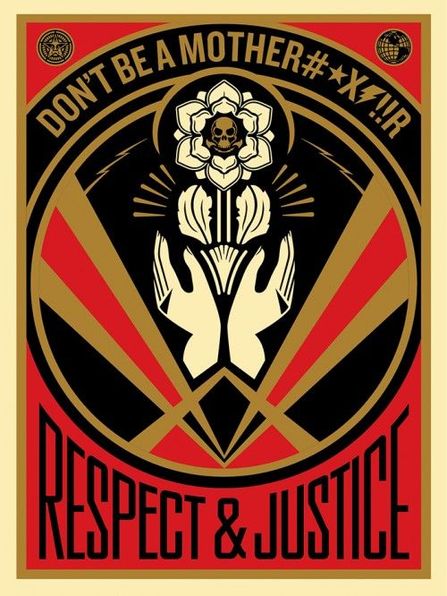 DON'T BE A MFR | OBEY | Shepard Fairey