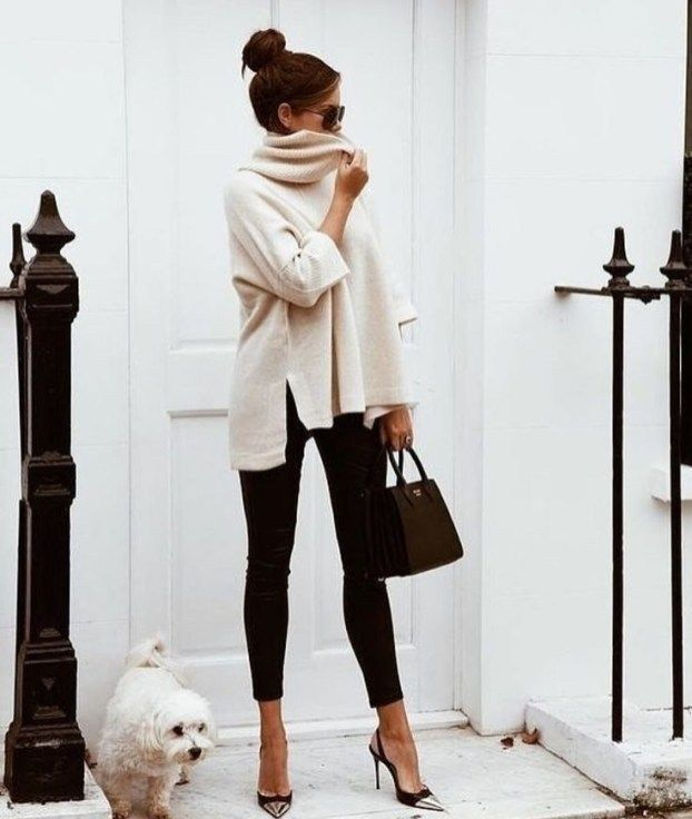 65 Cozy & Casual Office Outfits for Winter